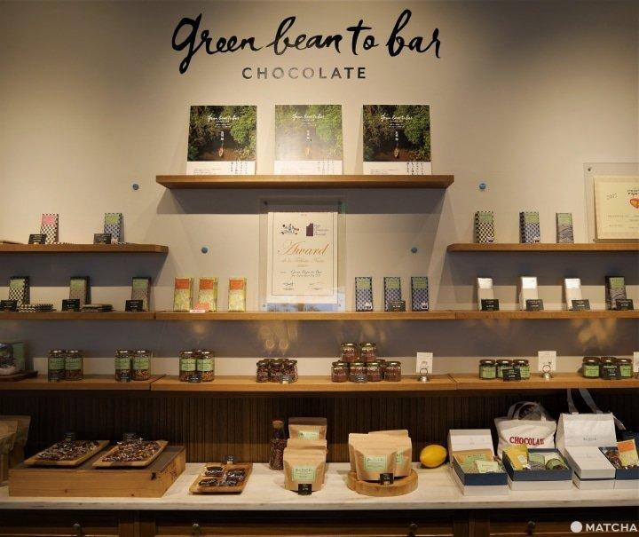 green bean to bar CHOCOLATE 福岡店