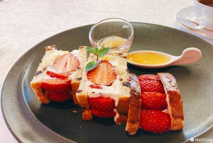 草莓奶油蛋糕代表「資生堂Parlour Salon de Cafe」