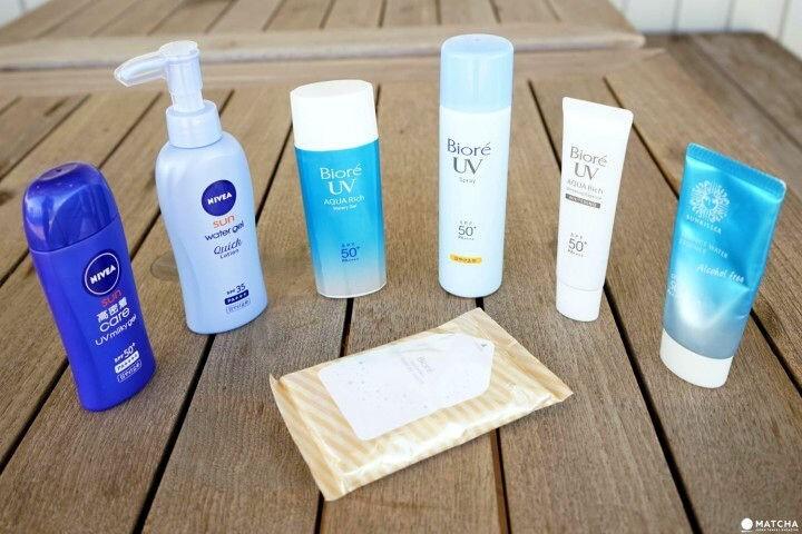 Japanese sunscreen